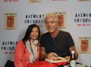 Laurie Nguyen & Anthony Bourdain